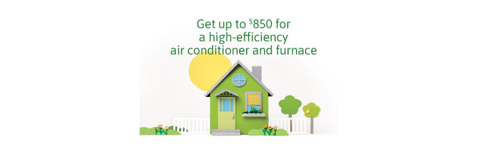 Save with the Heating and Cooling Program