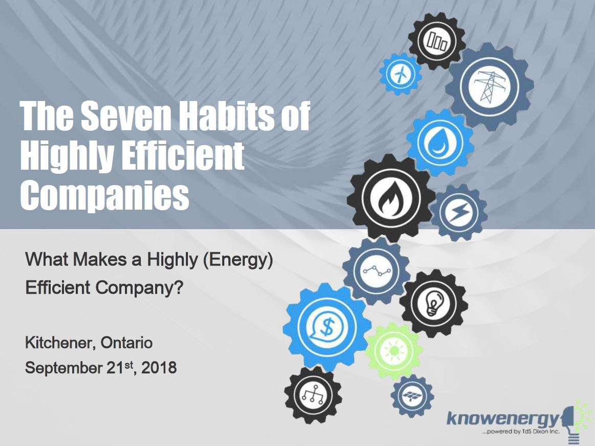 Seven Habits of Highly Efficient Companies