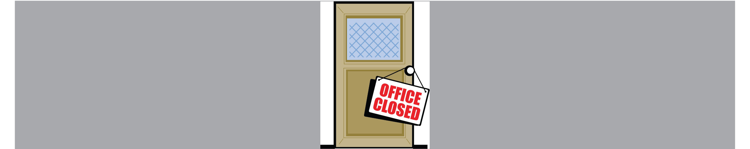 Office closure as of April 6, 2021