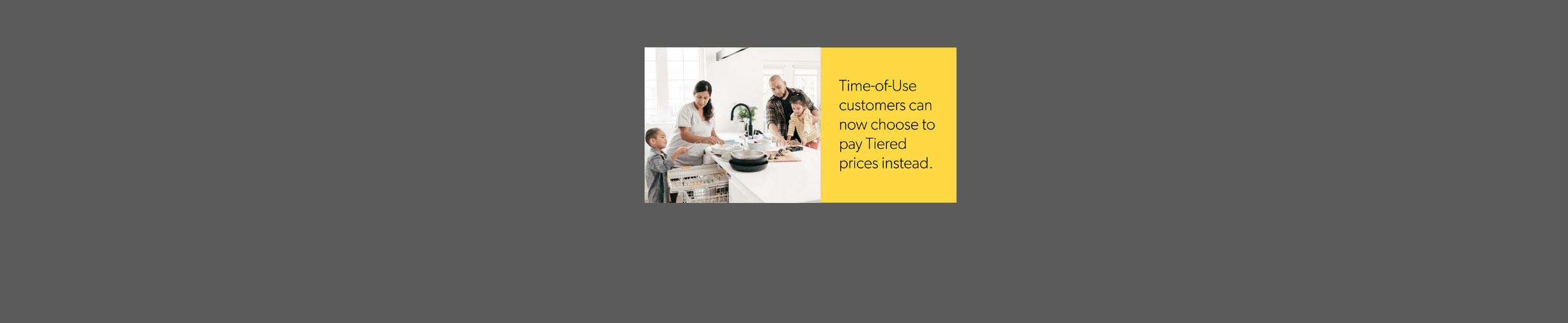 Time of Use Customer Choice Graphic
