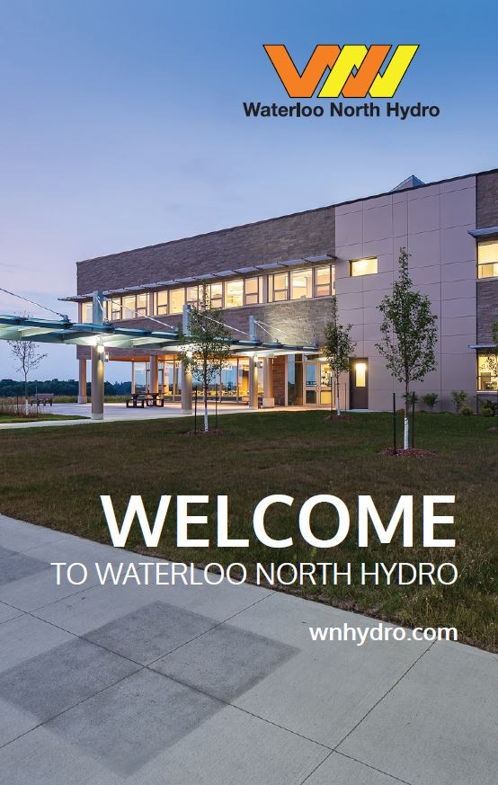 Waterloo North Hydro's Welcome Package
